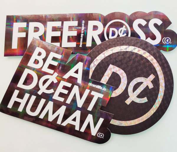 D¢ENT Co. Holographic Stickers